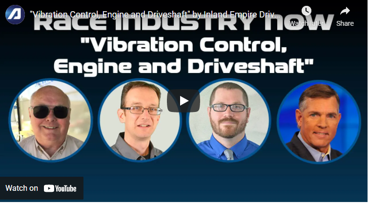 'Vibration Control, Engine and Driveshaft.' - EPARTRADE.Com Race Industry Now.