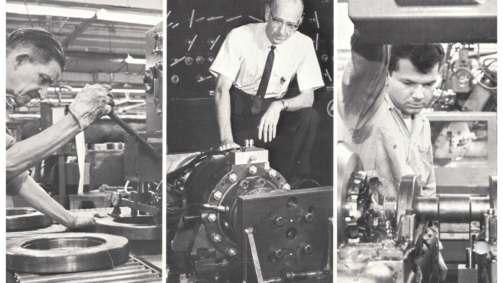 75th Anniversary - Manufacturing Then & Now